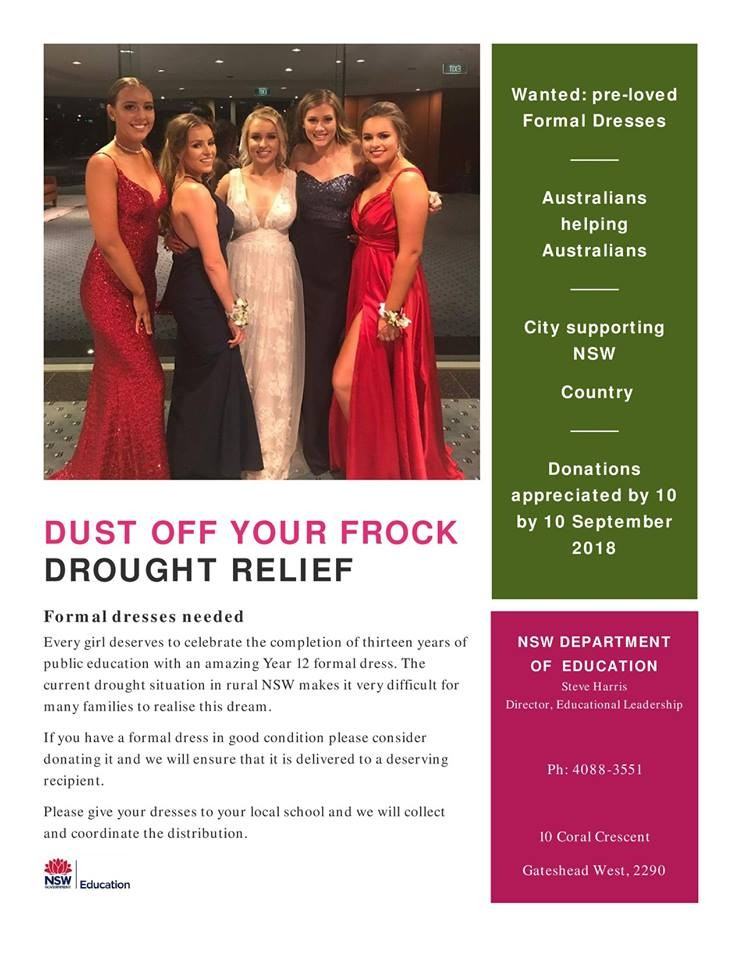 Donate Your Formal Dresses Henry Kendall High School