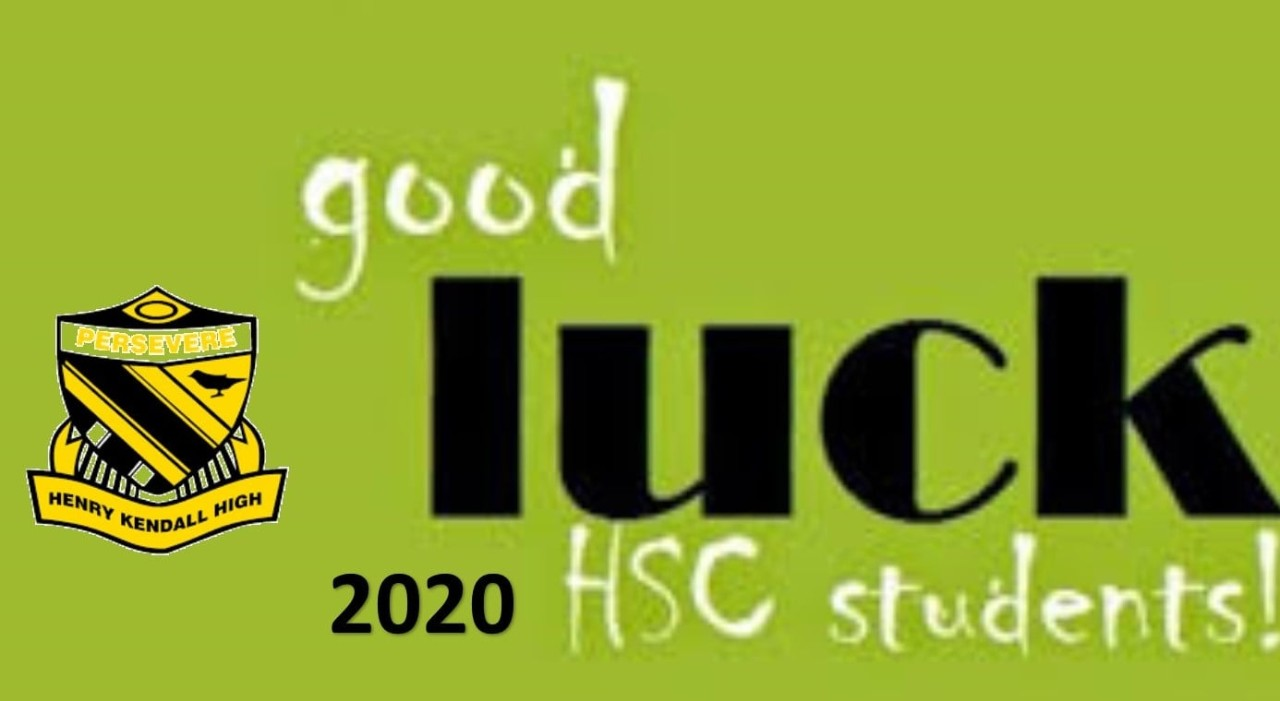 Good Luck Year 12
